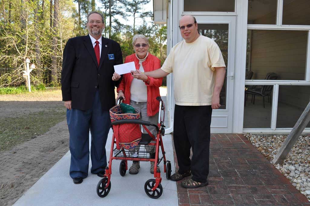 Elizabeth City Elks Donation